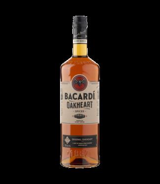 Bacardi Oakheart  Rum 100cl + 2 Bacardi glazen