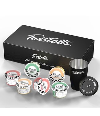 Starter Pack - Twistails 6 Cocktail Capsules Starter Pack, Made with Bacardi Rum