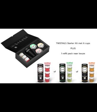 Twistails Starter Kit + Refill Pack naar keuze