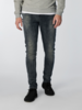 711 Slim Fit Dark Blue Grey Stretch Denim L32