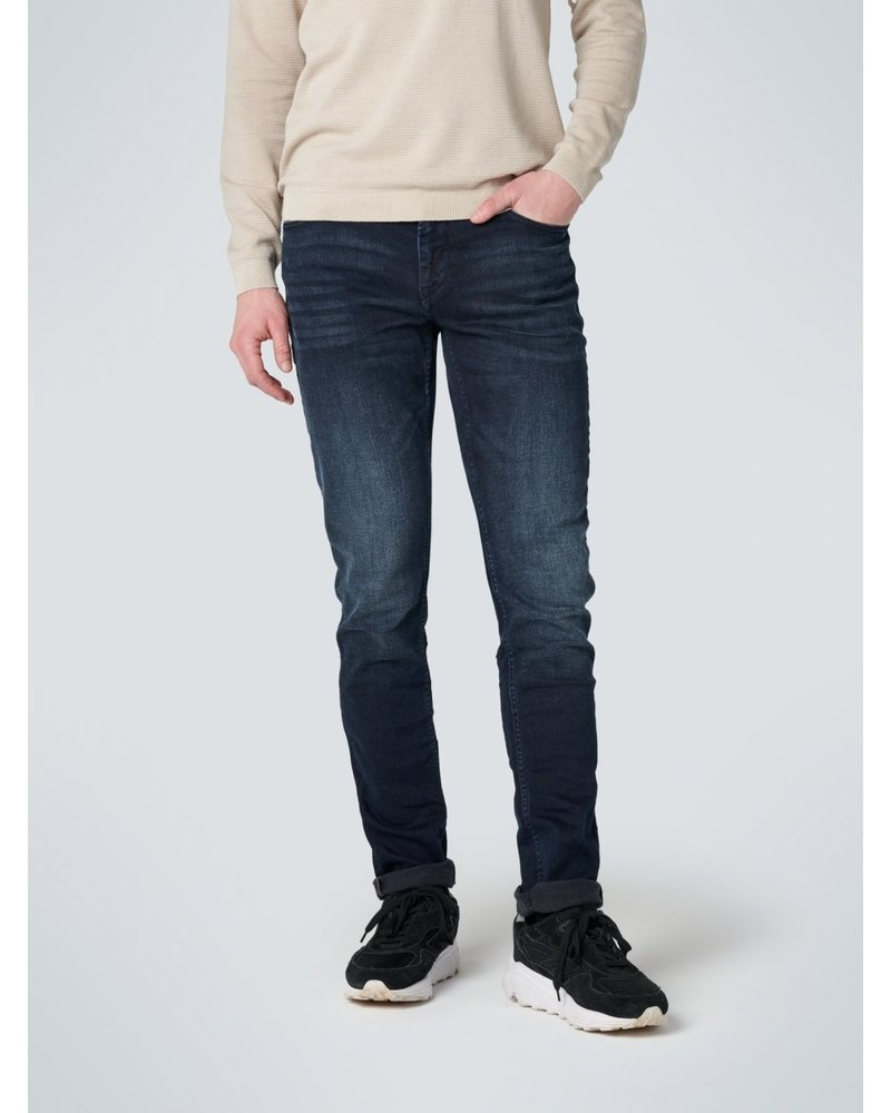 No Excess 711 Slim Fit Stone Used Stretch L32 N711D15