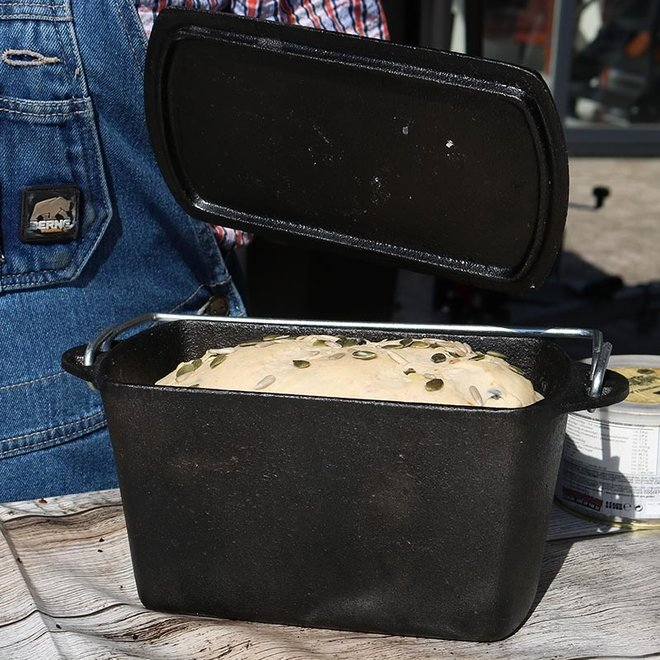 Brood Dutch Oven Gietijzer 2 Liter