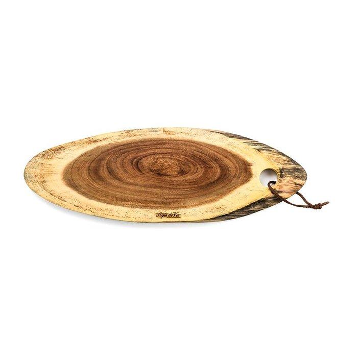 Serveerplank Ovaal Acacia Hout van Style de Vie