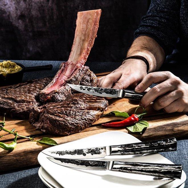 Intense Steakmessen 4 stuks van Forged