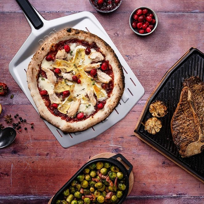 Pizzaschep - Peel Geperforeerd van Ooni