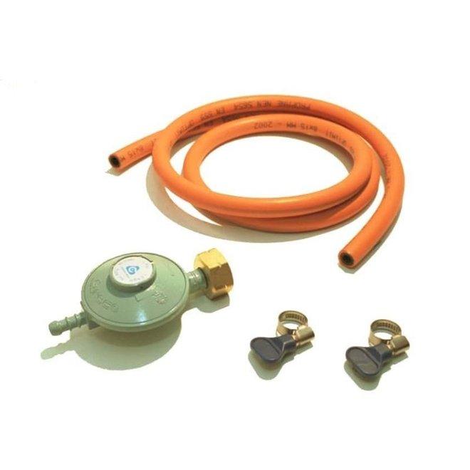 Gasdrukregelaar 30 mbar met slang 150 cm