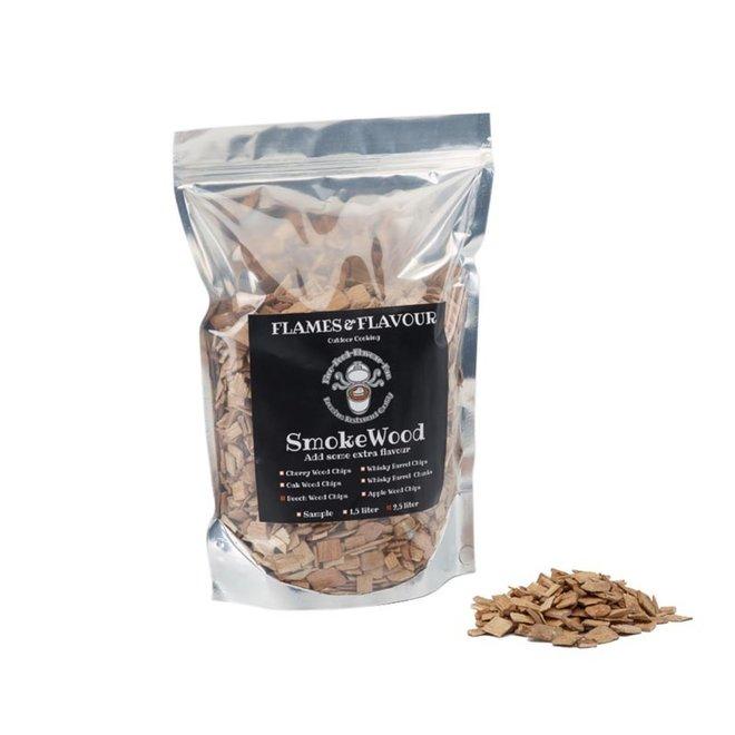 Rookhout Chips Beuken 2.5 L van Flames & Flavour