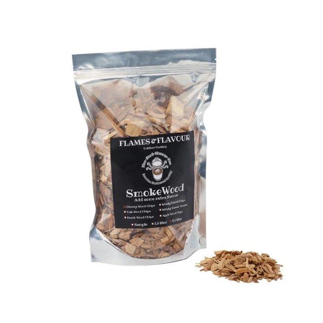 Rookhout Chips Kersen 2.5 L van Flames & Flavour