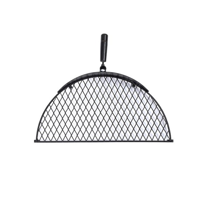 Cowboy Fire Pit Grill Rooster Small