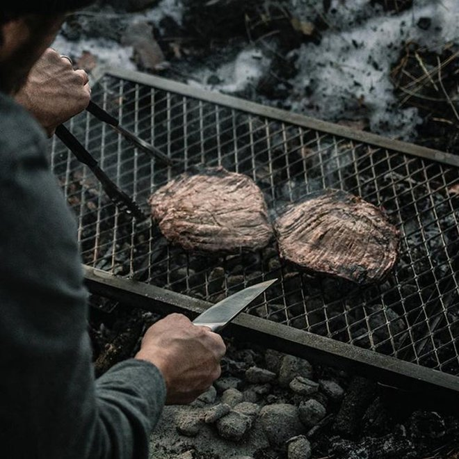 Grill Heavy Duty Rechthoek van Barebones