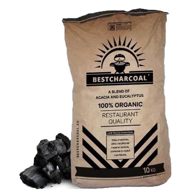 Houtskool Acacia & Eucalyptus 10KG van Bestcharcoal