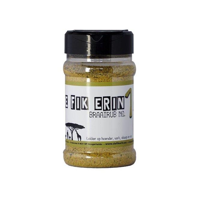 Braairub NO 1 - 200 gram van De Fik Erin