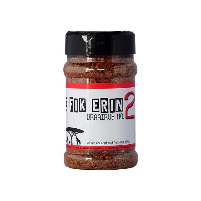 Braairub NO 2 - 200 gram van De Fik Erin