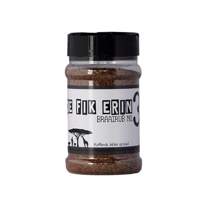 Braairub NO 3 - 200 gram van De Fik Erin