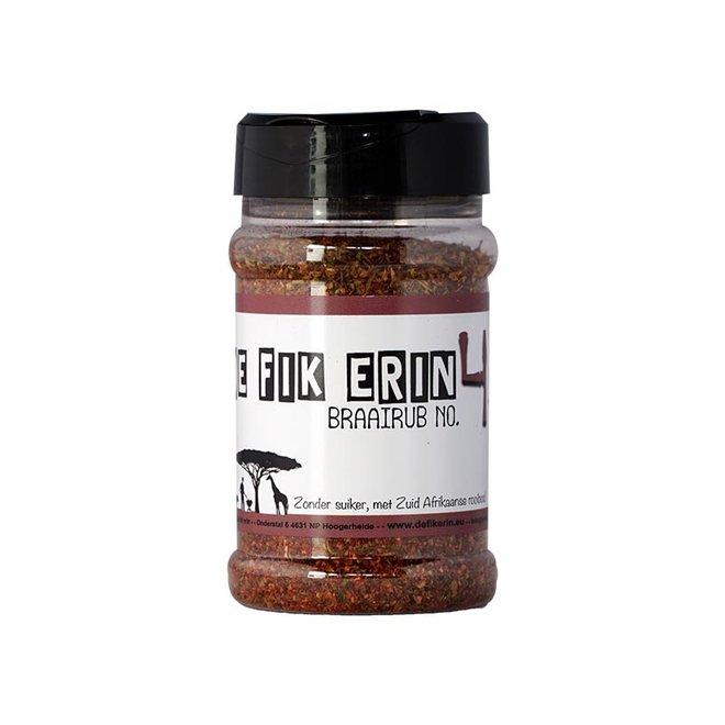 Braairub NO 4 - 150 gram van De Fik Erin!