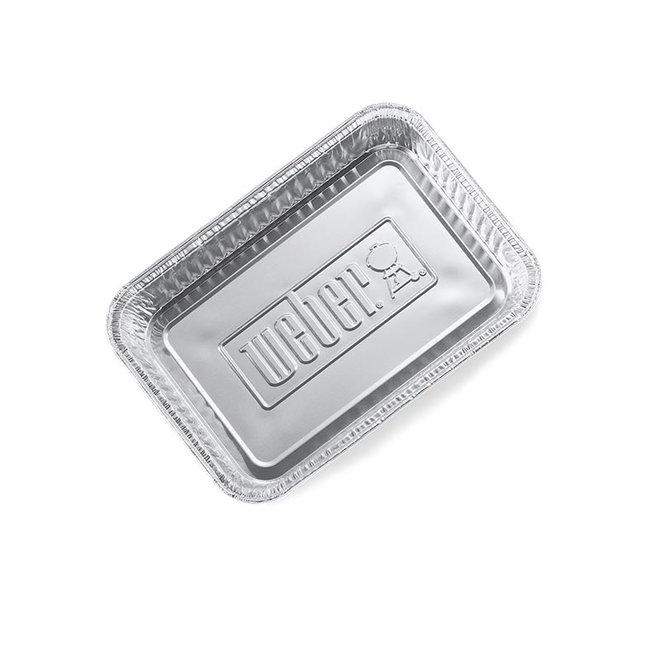 Aluminium Lekbakjes Klein - 10 stuks van Weber