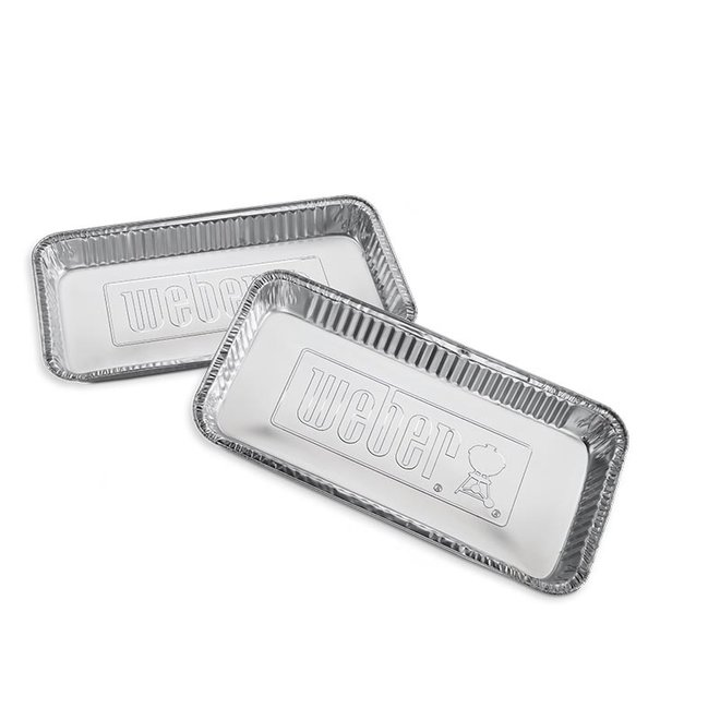 Aluminium Lekbakjes XL - 5 stuks van Weber