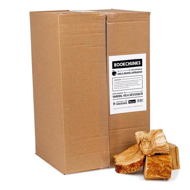 Rookchunks Appel 5 KG van Smokin' Flavours