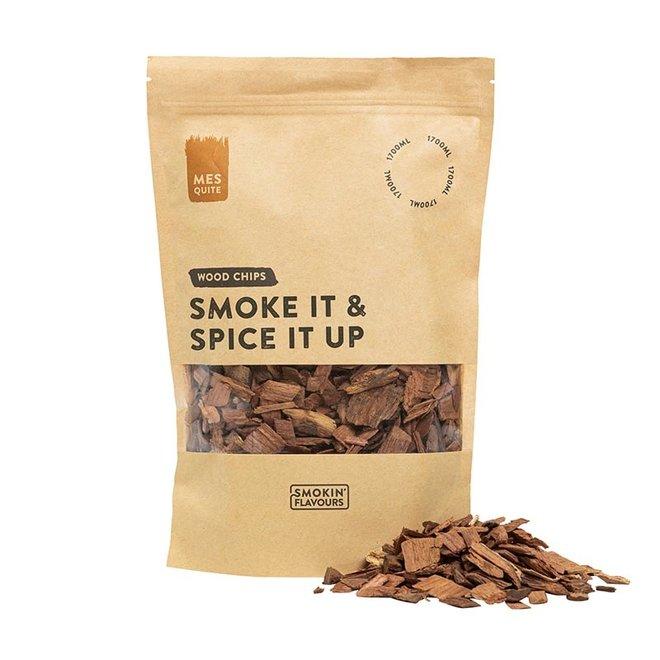 Rooksnippers Mesquite 1700 ML van Smokin' Flavours