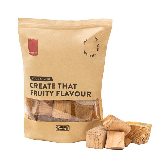 Rookchunks Kers 1.5 KG van Smokin' Flavours