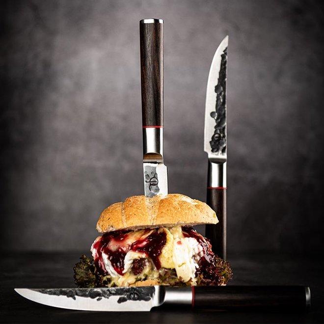 Sebra Steakmessen van Forged