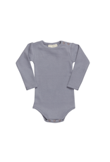 Blossom Kids Blossom Kids - Body Long Sleeve - soft rib - Blue Grey