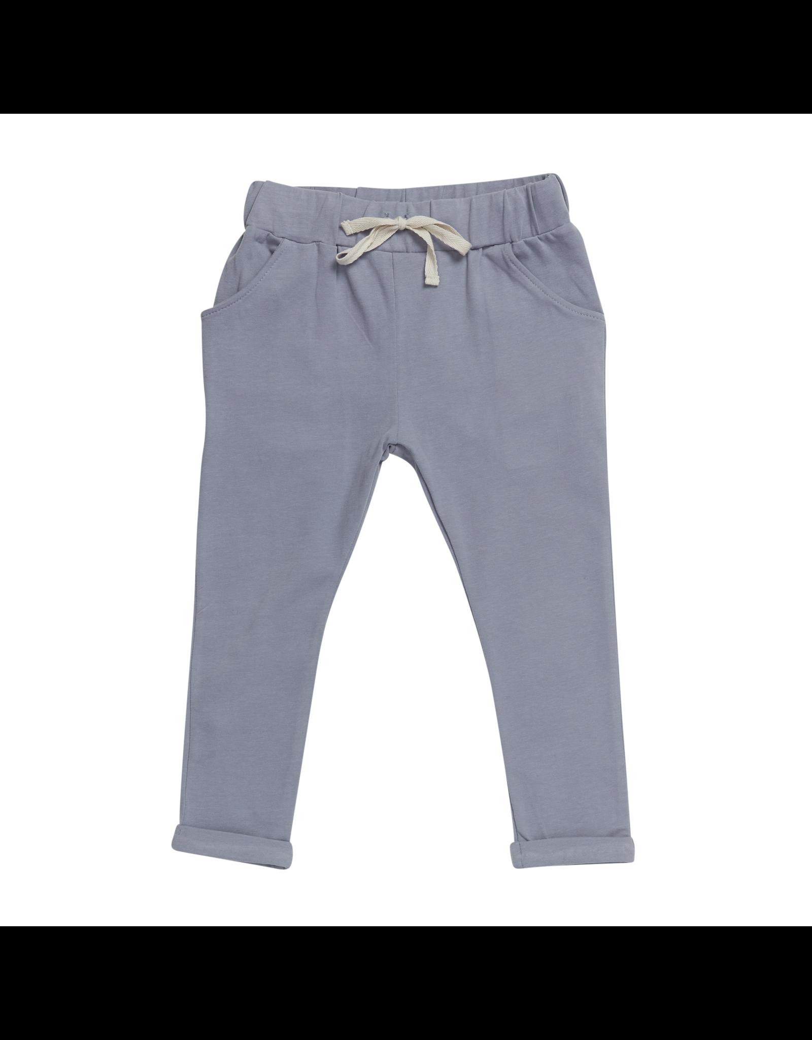 Blossom Kids Blossom Kids - Strap cord joggers - Blue Grey