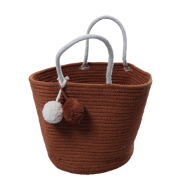 Fabelab FBL Rope Basket - Small - Cinnamon