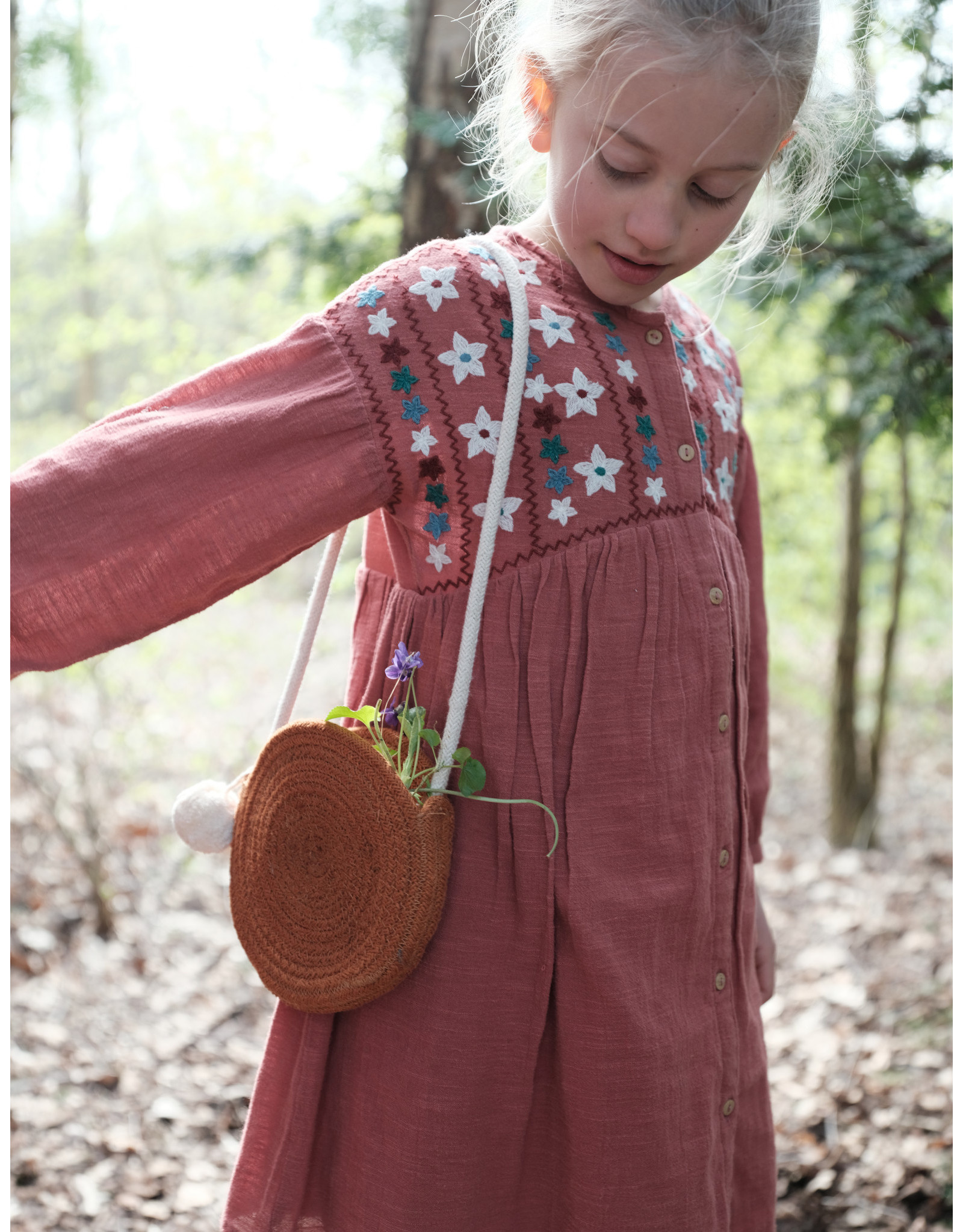 Fabelab FBL Rope Purse - Cinnamon
