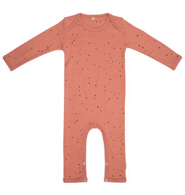 Little Indians Little Indians - Jumpsuit Dots - Canyon Clay