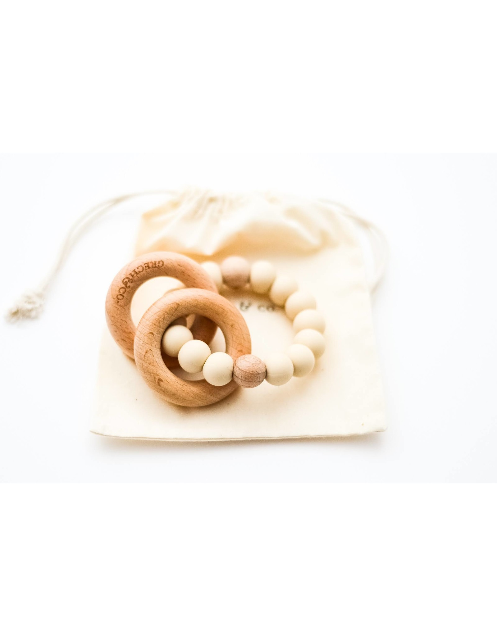 Grech & Co Grech & Co - Sedona Teething ring - Sand