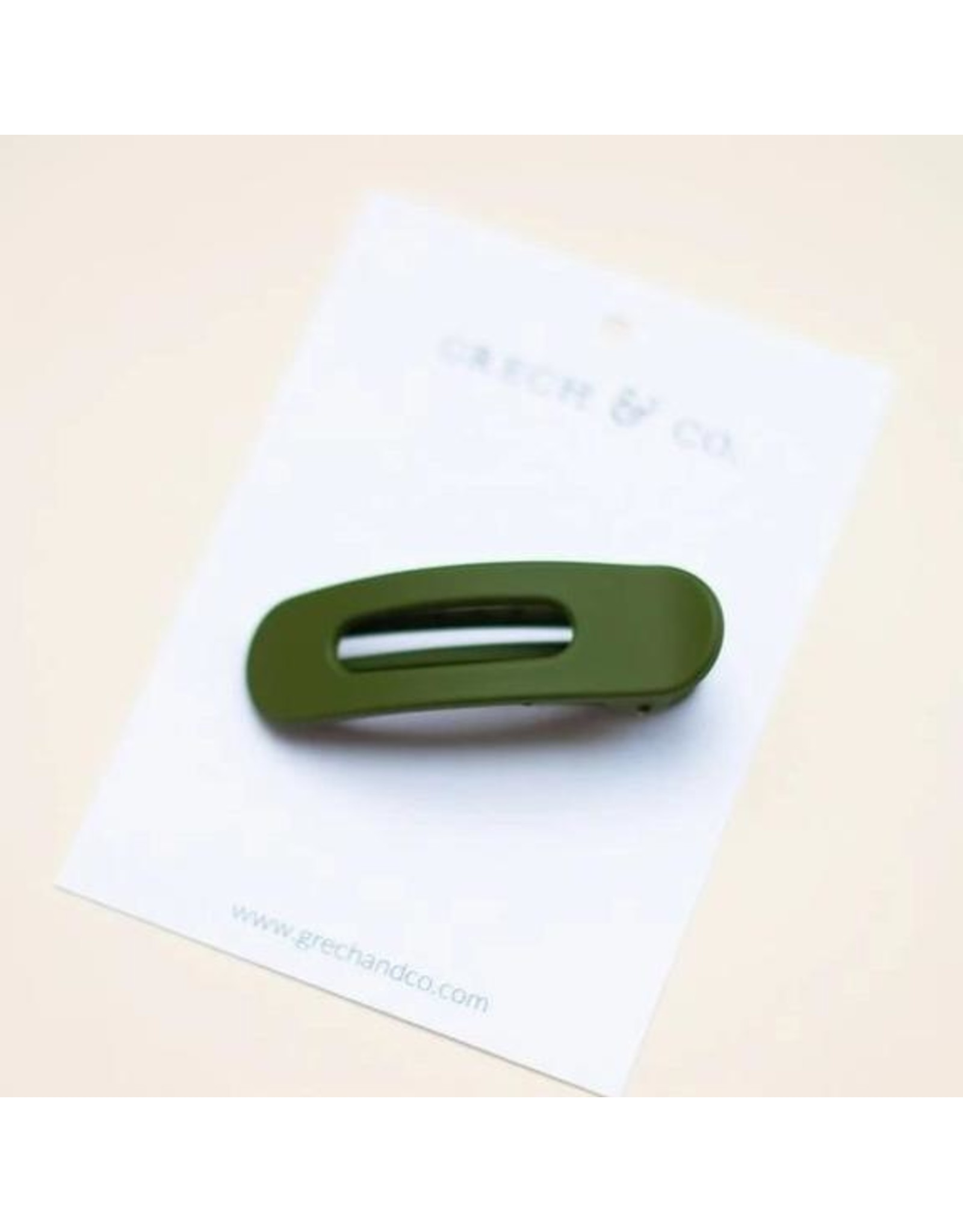 Grech & Co Grech & Co - Grip Clip - Evergreen