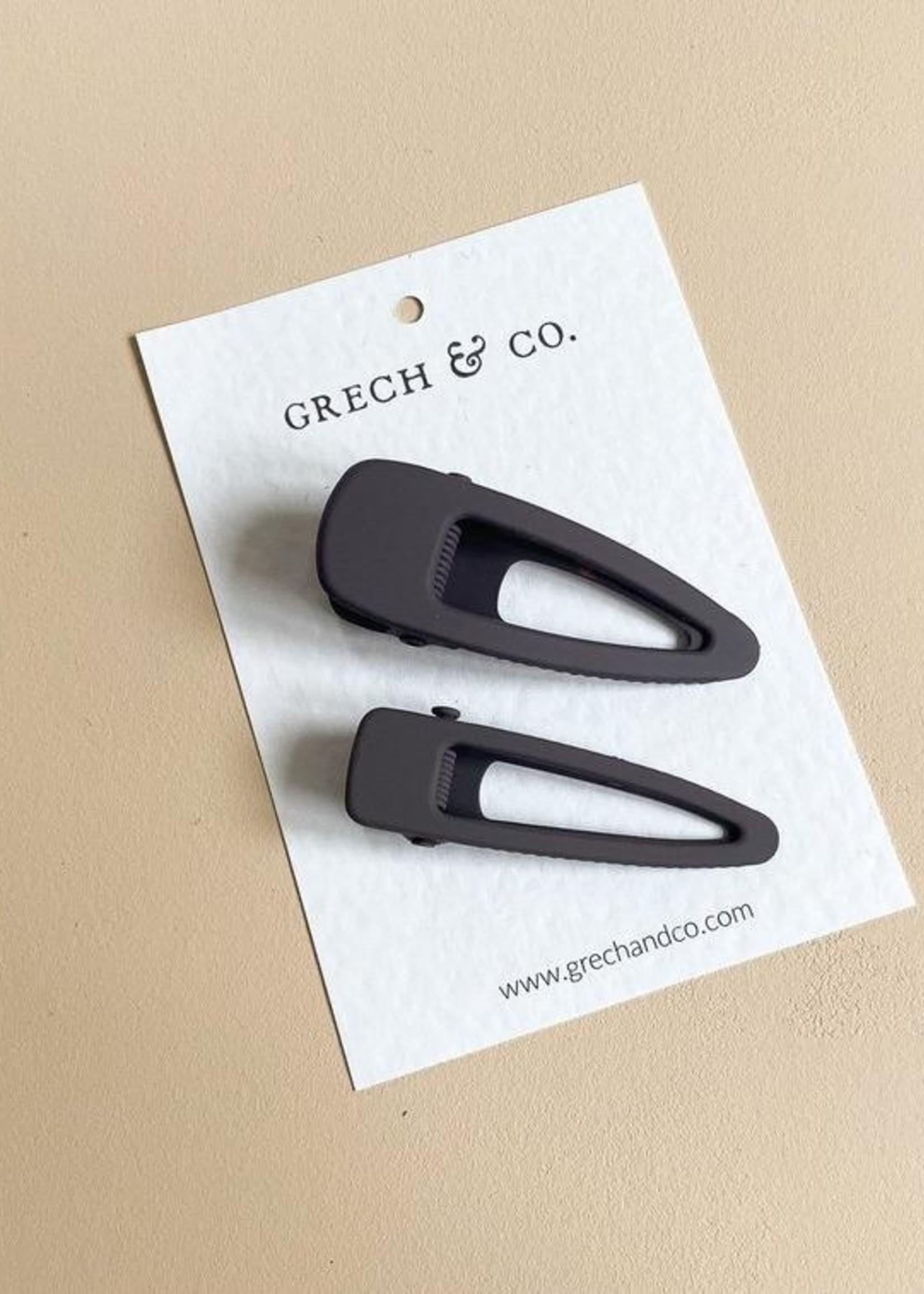 Grech & Co Grech & Co - Matte clip Set - Charcoal