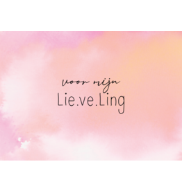 Lie.ve.Ling Kids Kaart Voor mijn Lieveling