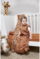 Meyco Meyco - Zomerslaapzak Zebra Camel