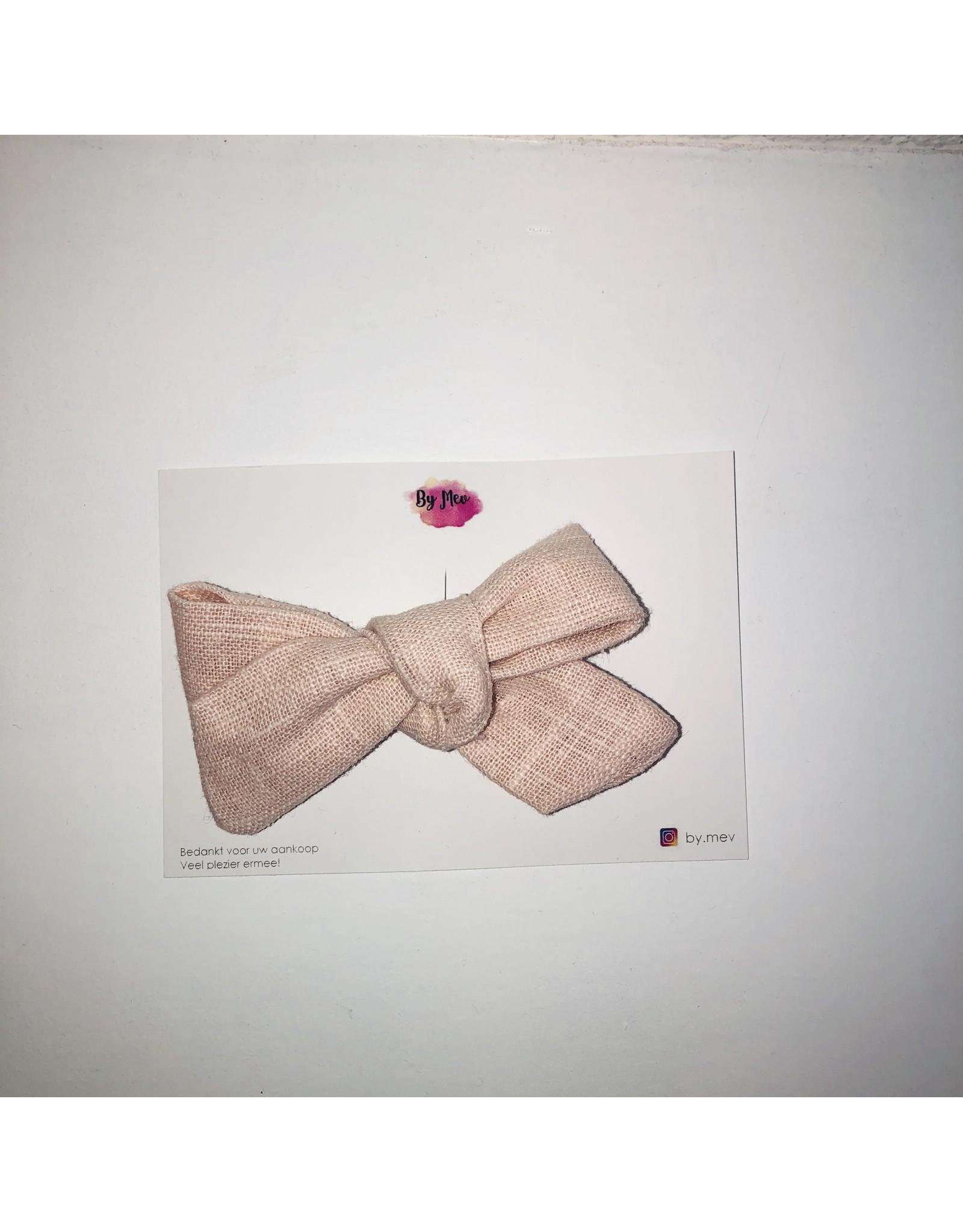 By Mev By Mev - Little Valerie Linnen Zacht roze