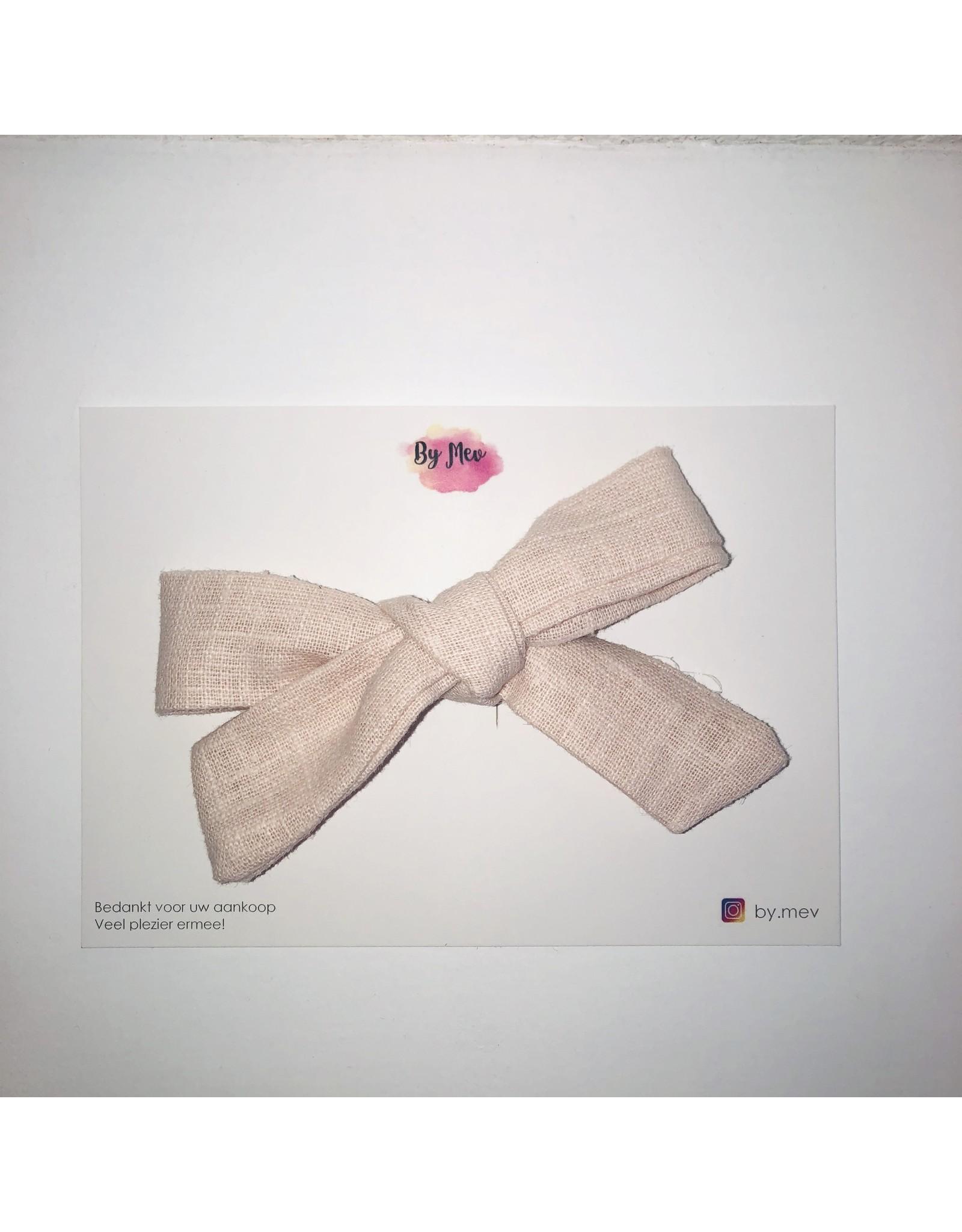 By Mev By Mev - Valerie Linnen Zacht roze