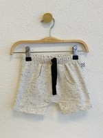 No Colours No Colours - Harem shorts Off-white sprinkles Front Pocket