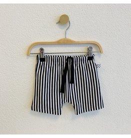 No Colours No Colours - Harem shorts Stripes