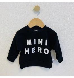 No Colours No Colours - Sweater Zwart MINI HERO