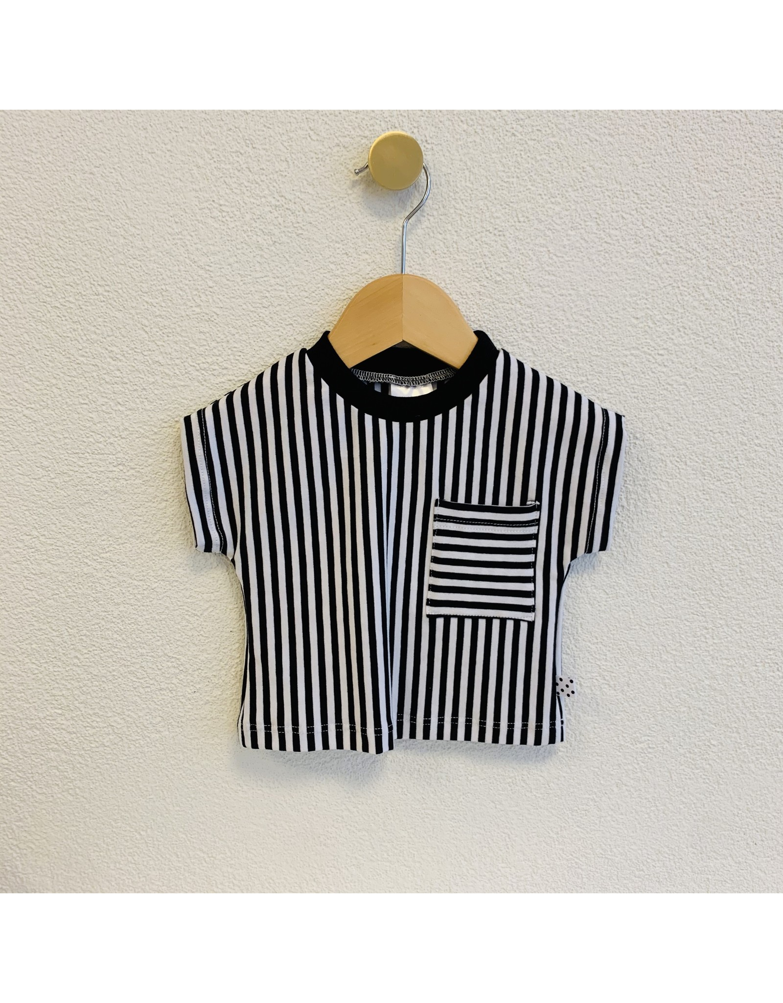 No Colours No Colours - T-Shirt Stripes striped pocket