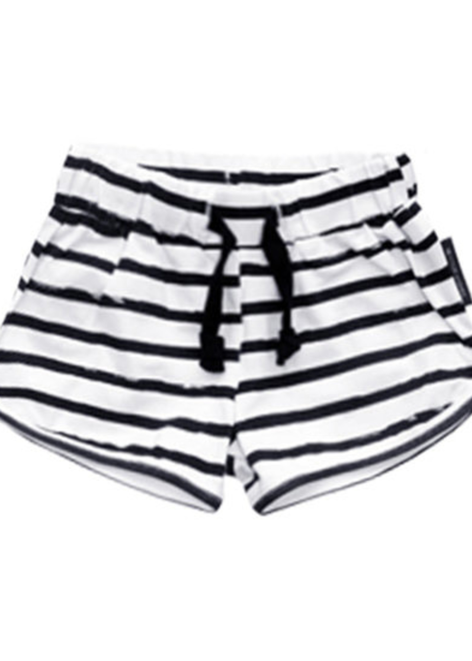 Your Wishes Your Wishes - Stripes Off-White | Shorts