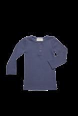 Blossom Kids Blossom Kids - Long Sleeve Rib shirt - Dusty Blue