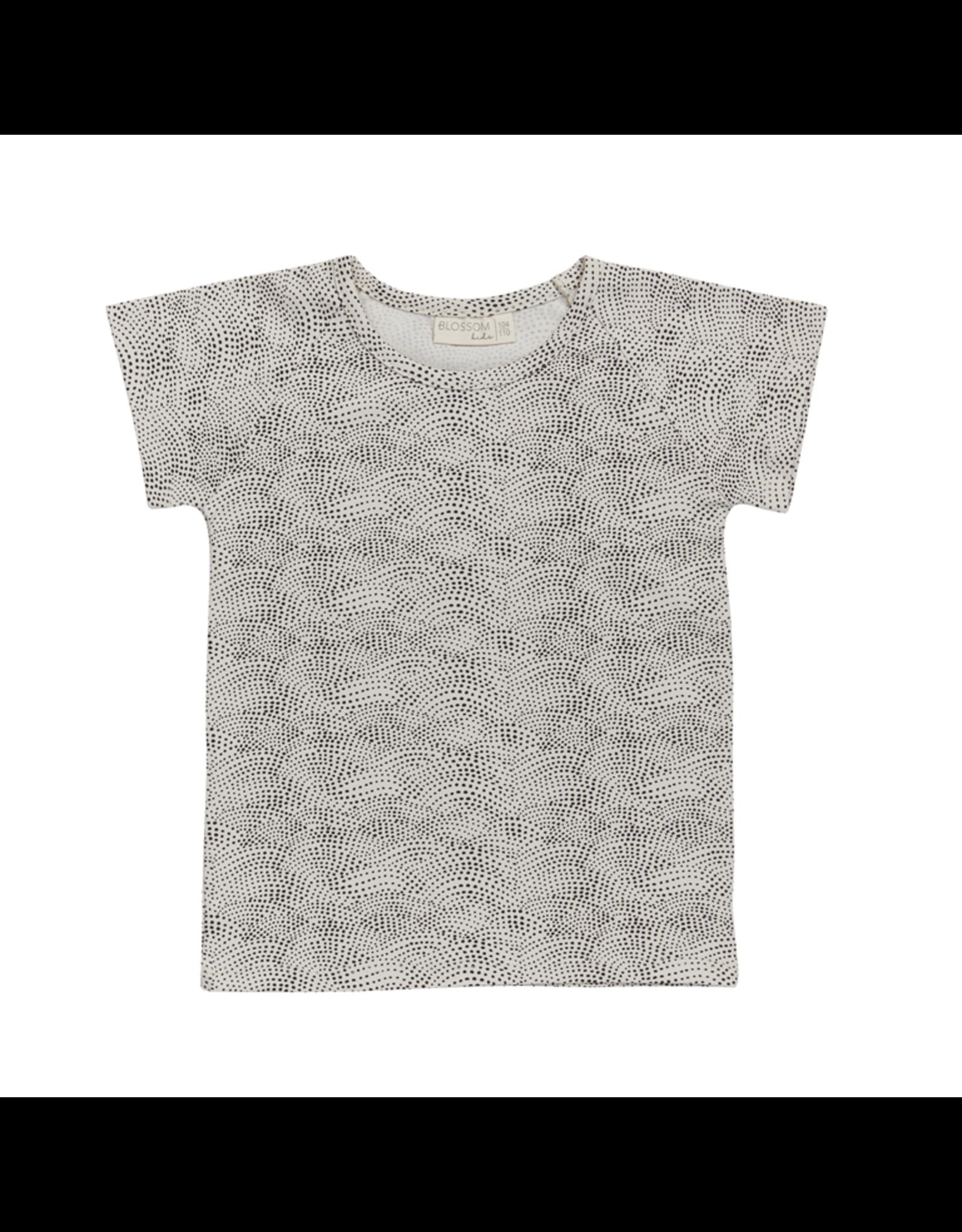 Blossom Kids Blossom Kids - Raglan short sleeve shirt - Dotted Waves