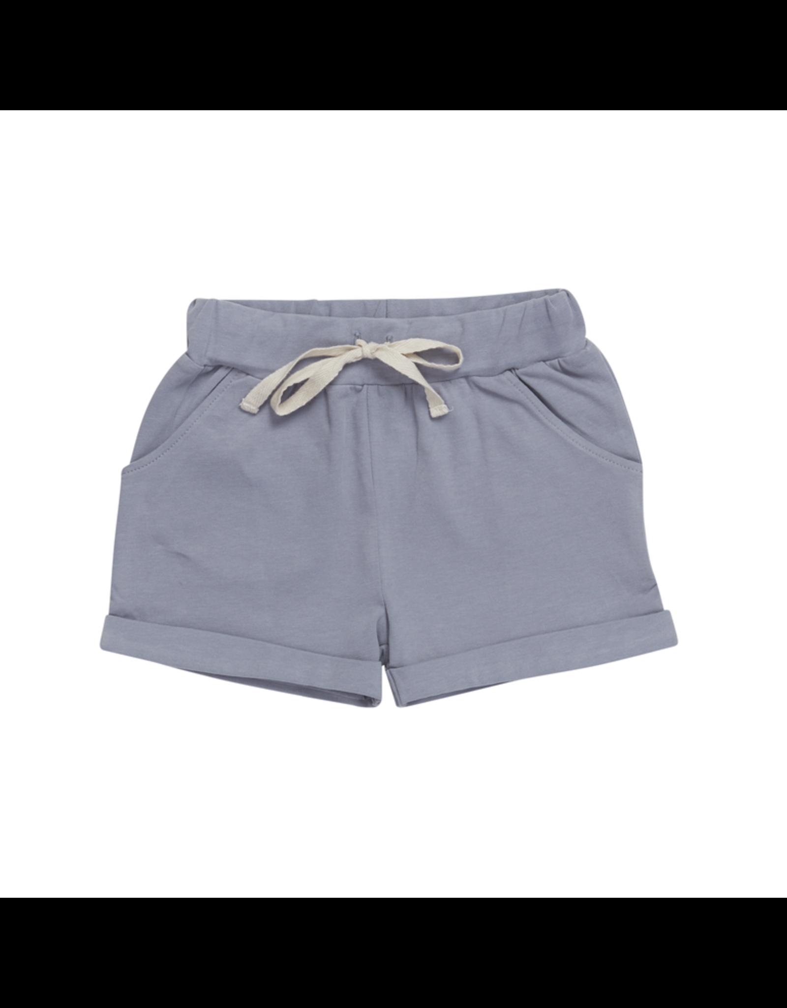 Blossom Kids Blossom Kids - Shorts - Blue Grey