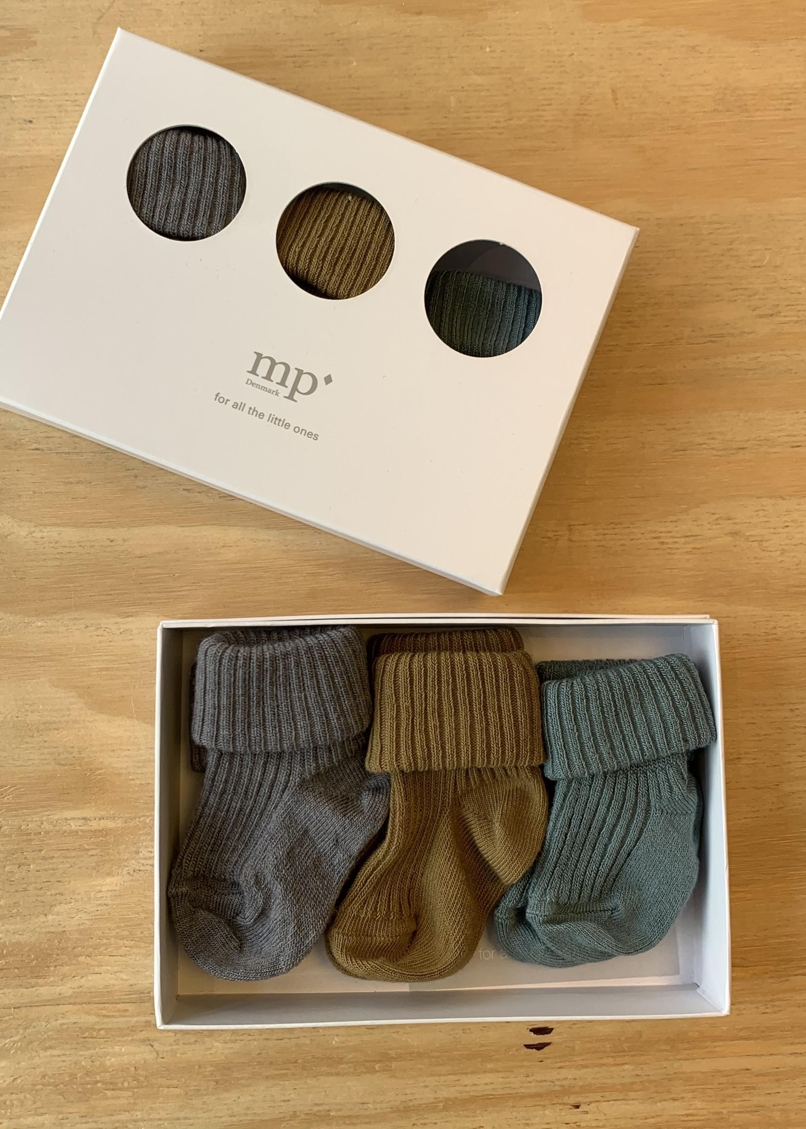 MP Denmark MP Denmark - Ankle Elite groen - 3 Pack