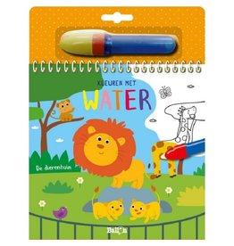 Boek - Kleuren met water : De dierentuin