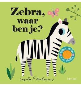 Boek - Zebra, waar ben je?
