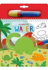 Boek Kleuren met water Dino