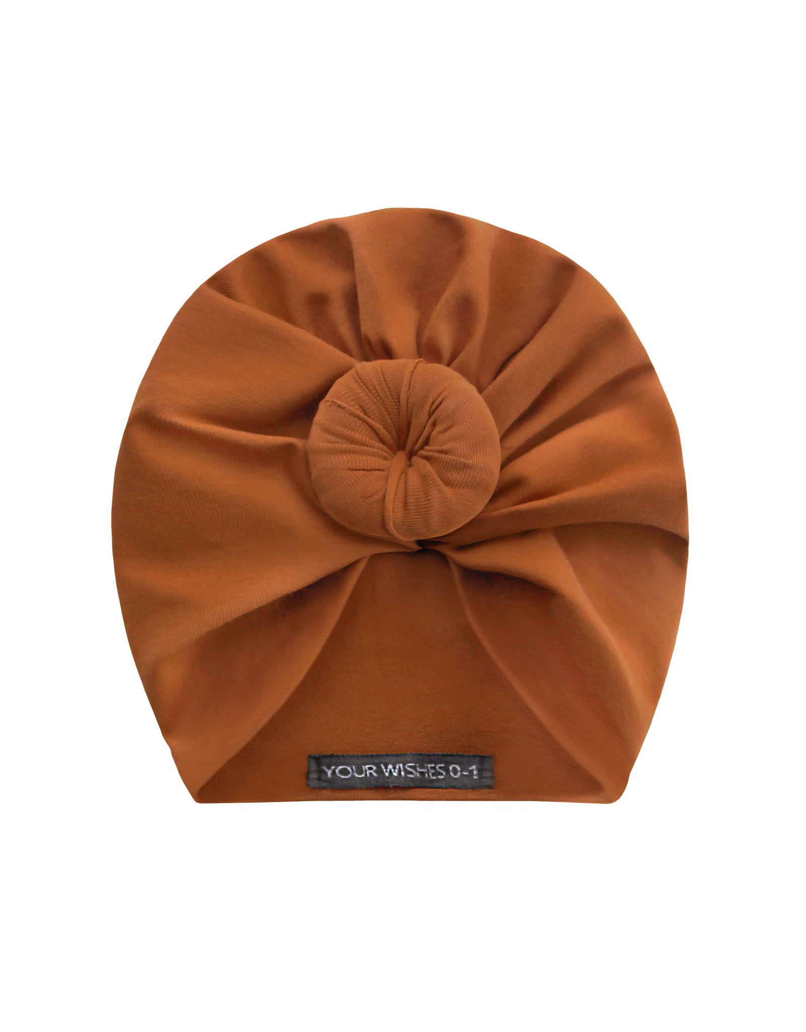 Your Wishes Cognac - Jersey - Turban Knot